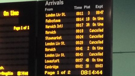 Delays of up to 15 minutes are expected