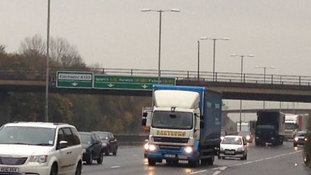 There are calls for the A12 to become a motorway.