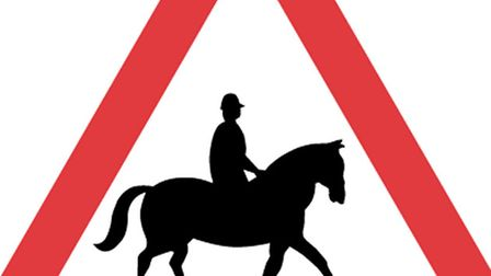 Drivers should be on the lookout for horses, particularly on country roads.