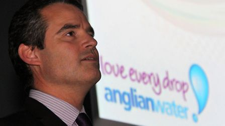 Andy Brown of Anglian Water at the launch of the Suffolk Creating the Greenest County Awards 2015. P