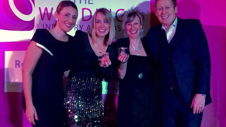 From left, Abi Neill, Kirsty Vaughan, Linda Thompson and Rob Neill of Abigail's Collection & The Gro