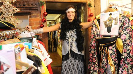 Susie Patten, who has opened her new business The Fancy Dress Hut in Ipswich.