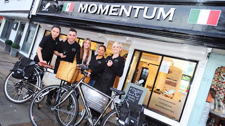 The Momentum Caf� team.