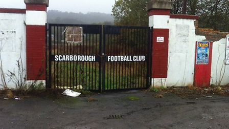 All that remains of Scarborough's old McCain Stadium, a picture taken by Carl Marston during a recen