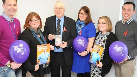 Colchester MP Sir Bob Russell finds out more about National HIV Testing Week at Terrence Higgins Tru