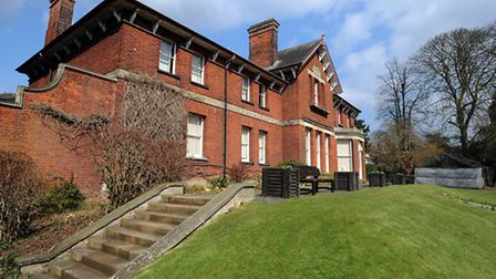 The council is to discuss the future of Belle Vue House in Sudbury.