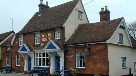 The White Horse in Hitcham