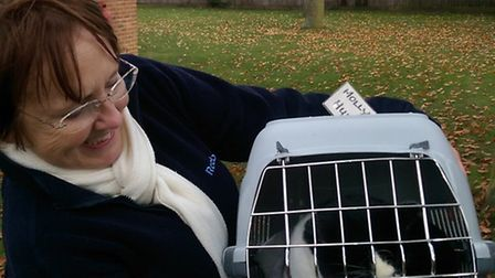 Molly reunited with her owner Francis Hull