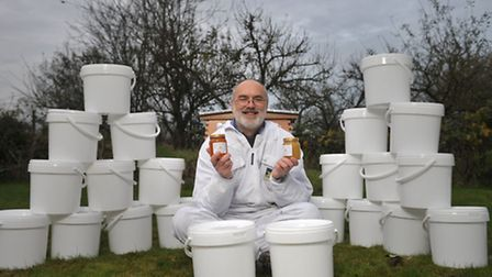 Paul White is the Suffolk Beekeepers' Association swarm coordinator