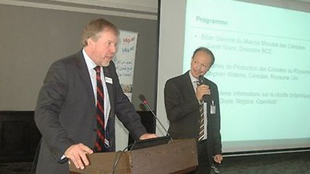 Building the biscuit market in Morocco: HGCA annual outward mission in Casablanca. Mike Hambly, HGCA