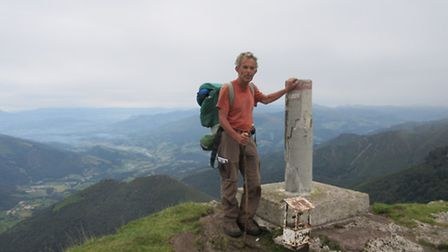 Jack Rosenthal has reached the halfway point in his bid to walk the length of the Pyrennees in aid o