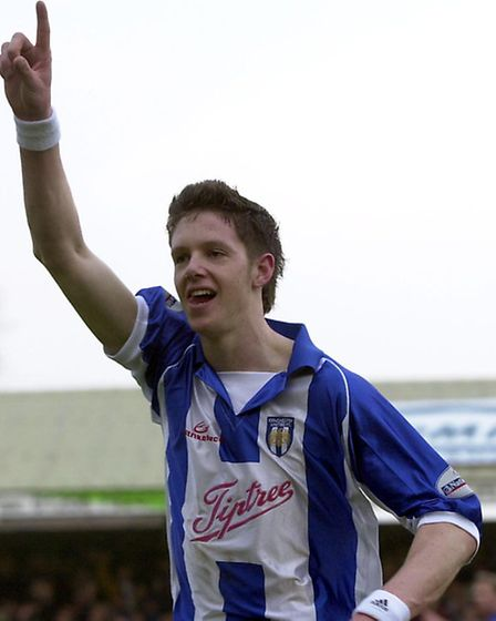 Greg Halford, pictured during his Colchester United days