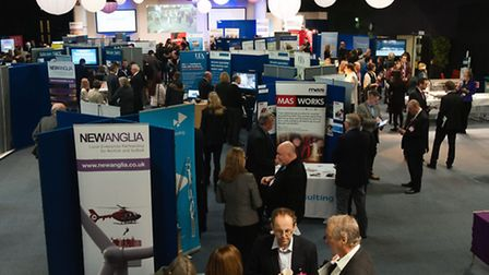 The iExpo innovation exhibition at Adastral Park.