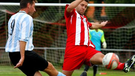 Felixstowe & Walton's Stuart Ainsley is relishing coming up against his brother Jack tonight