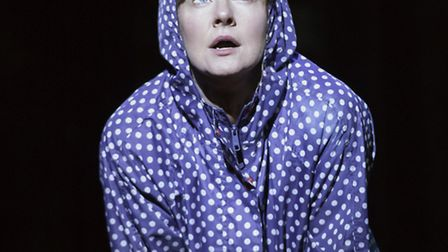 Clare Burt in This is My Family by Tim Firth which is at the New Wolsey Theatre, Ipswich