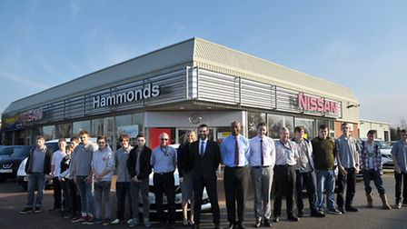 Educational day at Hammonds in Halesworth.