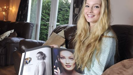 Hannah Dodd, of Leavenheath, who became the face of Primarks lingerie campaign for Spring 2014.