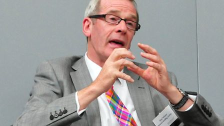 Paul Winter, chief executive at the Ipswich Building Society.