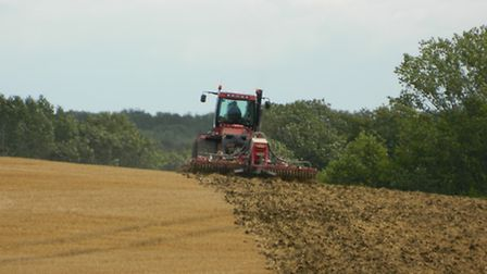 Drilling next year's crop of oil seed rape: Low crop prices and high costs are set to put the squeez