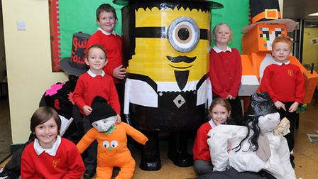 Pupils at Long Melford Primary School have made Guy's for the Big Night Out competition.