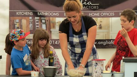 Flavours of Winter 2014's Charlotte Gaffer