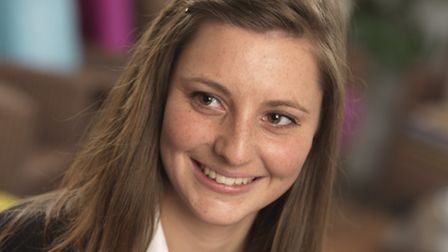 Beth Duchesne, 21, from Stanningfield near Bury St Edmunds, is part of an NFU-organised team of youn