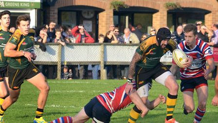 Bury St Edmunds Rugby Club continue their impressive start to the season with a 36 - 14 victory over