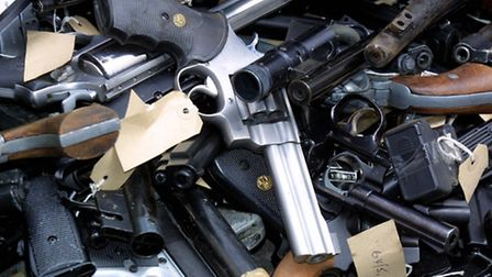 Gun surrenders in other counties have proved a success. Library file picture from the Metropolitan P