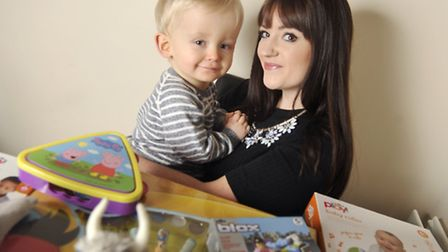 Jade Hutchings has started a project to donate toys to kids at Ipswich Hospital this Christmas after