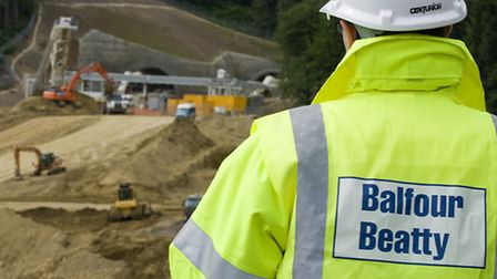 Construction group Balfour Beatty has turned down a �1bn offer for its investment business.