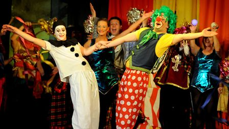 Fun filled family pantomime: The Stowmarket Operatic and Dramatic Society staging Puss in Boots at t