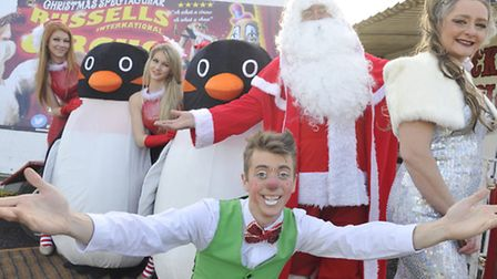 Russell's International Circus is preparing to open at Stonham Barns on December 19.
