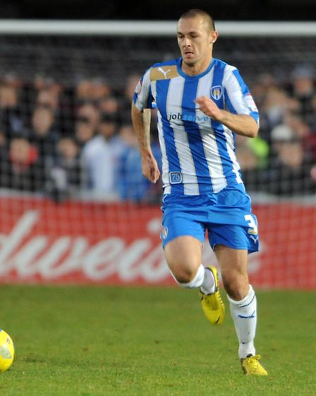 Ex-U's left-back Michael Rose, now at Rochdale