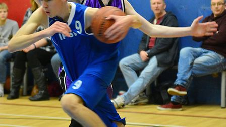 Blake Read was the hero for Ipswich under 16 boys, hitting the game winner in a double-overtime thri