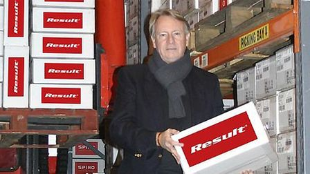 David Sanders-Smith, managing director and owner of Result Clothing.