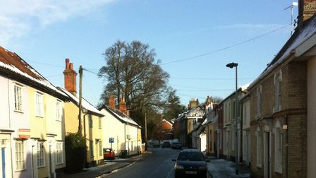 General view of Mount Street in Diss. Picture: DOMINIC BAREHAM/ARCHANT LIBRARY