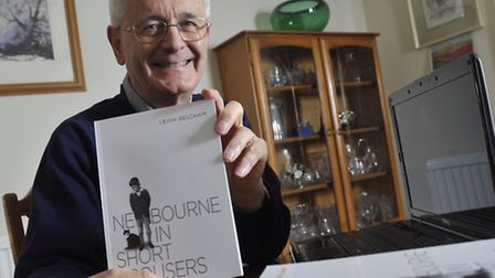 Author Leigh Belcham has written a book called Newbourne in Short Trousers about growing up in the L