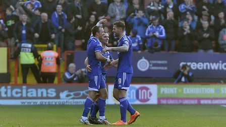 Noel Hunt is the man of the moment after coming on as a late sub to score Ipswich's injury time winn