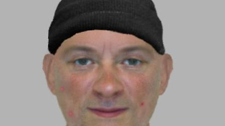 Efit of suspect in spate of accostings across north Essex involving 20 incidents in four years