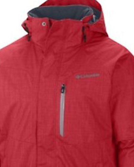 A red ski jacket similar to this was worn by suspect in spate of accostings across north Essex invol