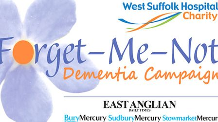 Forget-Me-Not Dementia Campaign logo