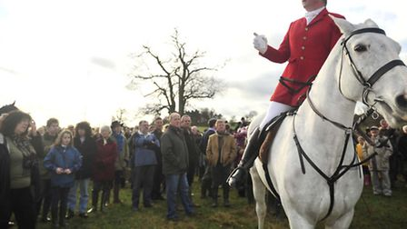 A British tradition, the Boxing Day Hunt in Hadleigh - 2011