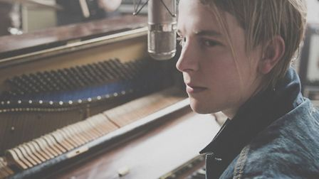 Tom Odell, playing Thetford Forest July 5, 2015. Photo: Andrew Wilton