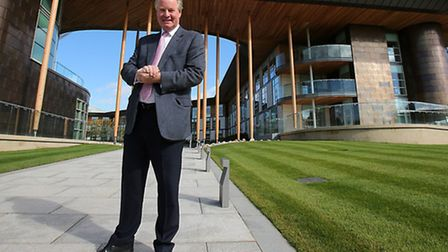 David Sheepshanks, pictured outside of St George's Park