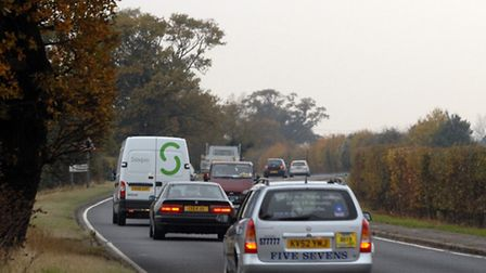 A120 between Marks Tey and Braintree.