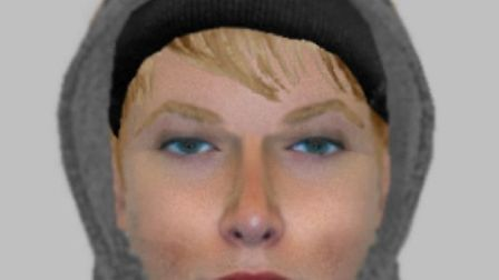 Efit issued by Essex Police after attempted knifepoint robbery in Clacton on November 14 2014