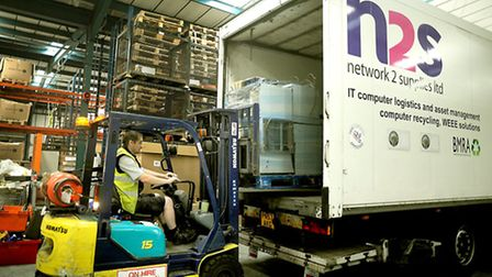The Network 2 Supplies IT recycling centre in Bury St Edmunds .