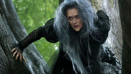 Meryl Streep as The Witch in the forthcoming film version of Into The Woods which has attracted crit