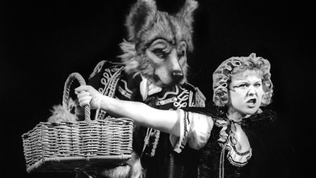 Into The Woods (1991) with Don Gallagher and Wendi Peters, a still from the Wolsey Theatre productio