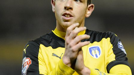 Michael O'Donoghue, on his Colchester debut at Barnsley